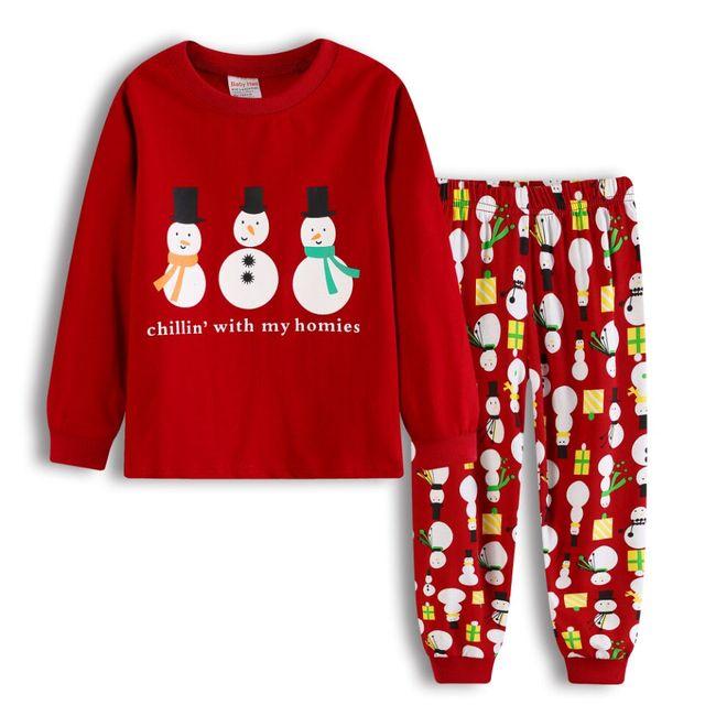 4cea63286 Boys Pijamas Set Children s Pyjamas Clothing Sets Kids Xmas Pajamas ...