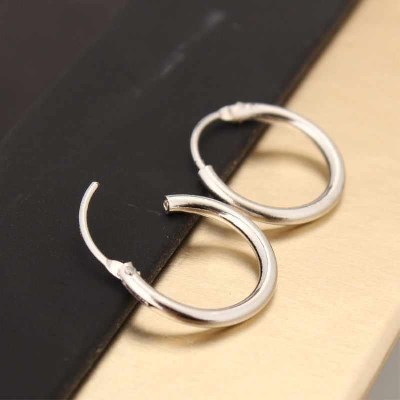 เครื่องประดับเกาหลีเครื่องประดับต่างหูคนรักวงกลมแหวนต่างหูและแหวนต่างหูหญิง Hip Hop Hoop ต่างหู EK929