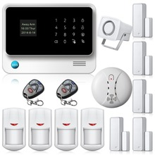 Etiger G90B Security GSM WIFI Alarm System with GPRS, Touch keypad LCD Display Voice Promt,IOS Android APP Alarm System