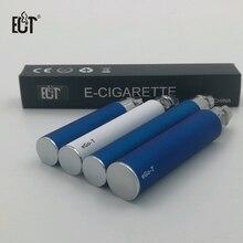 Promotion colorful ego battery 650mah 900mah 1100mah electronic cigarette battery e cigarette battery ego t  e cigarette battery