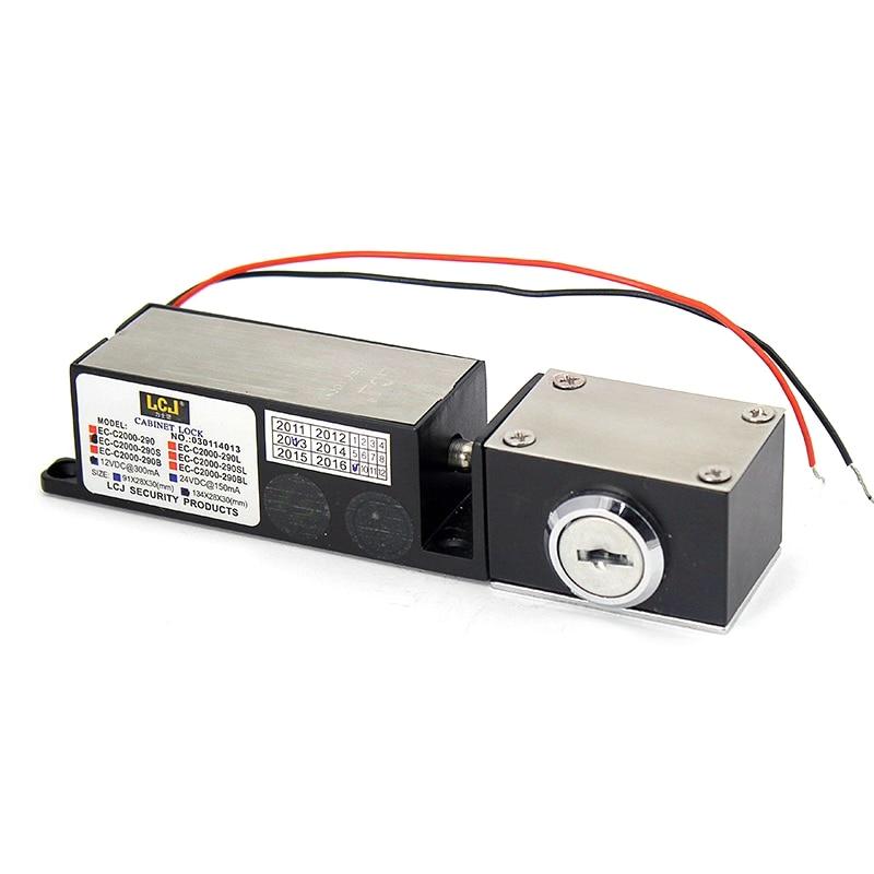 Raykube Elektrische Magnetische Türschloss 180 Kg 390lb Mit Einsteckschloss Halterung Für Dooe Access Control System R-180mi Elektroschloss