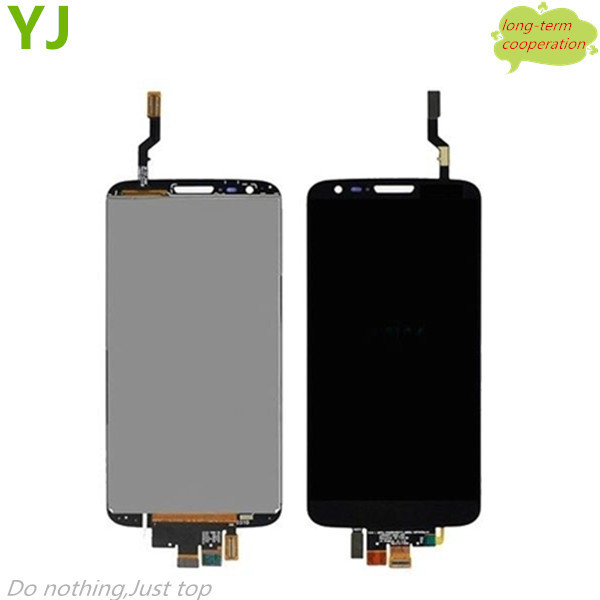 HK free shipping YJ 100% Tested OEM LCD Assembly with Touch Screen Digitizer for LG G2 VS980 Verizon
