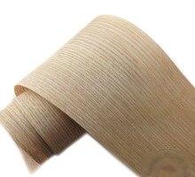 2pcs/lot L:2.5Meters Wide:150mm  Thickness:0.25mm  Red oak bark wood veneer Wooden furniture leather speaker