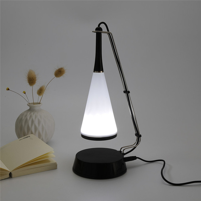Fashion Wireless Bluetooth Speaker USB Charging With Digital LED Smart  Touch Sensor Table Lamp Light Adjusted