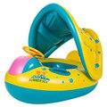 2017 da Segurança Do Bebê Infantil de Natação Bóia Inflável Toldo Ajustável Anéis de Natação Assento Chlidren Brinquedo Divertido De Barco Da Água 63779