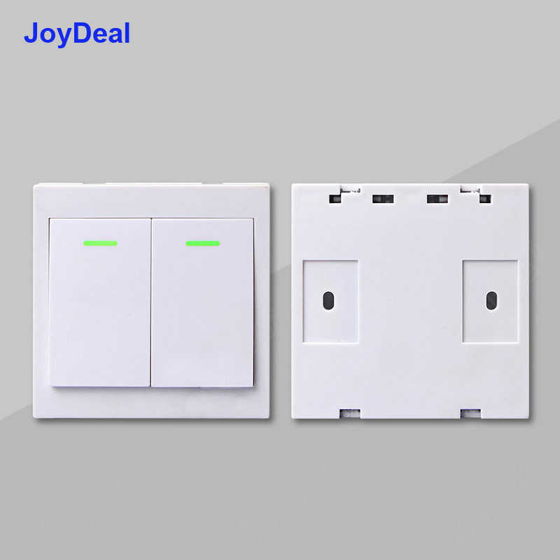 433Mhz RF 10A IOS Android 2200W AC 220V Smart Home WIFI Wireless Switch  Module 86 Wall Panel Wireless Remote Control Transmitter