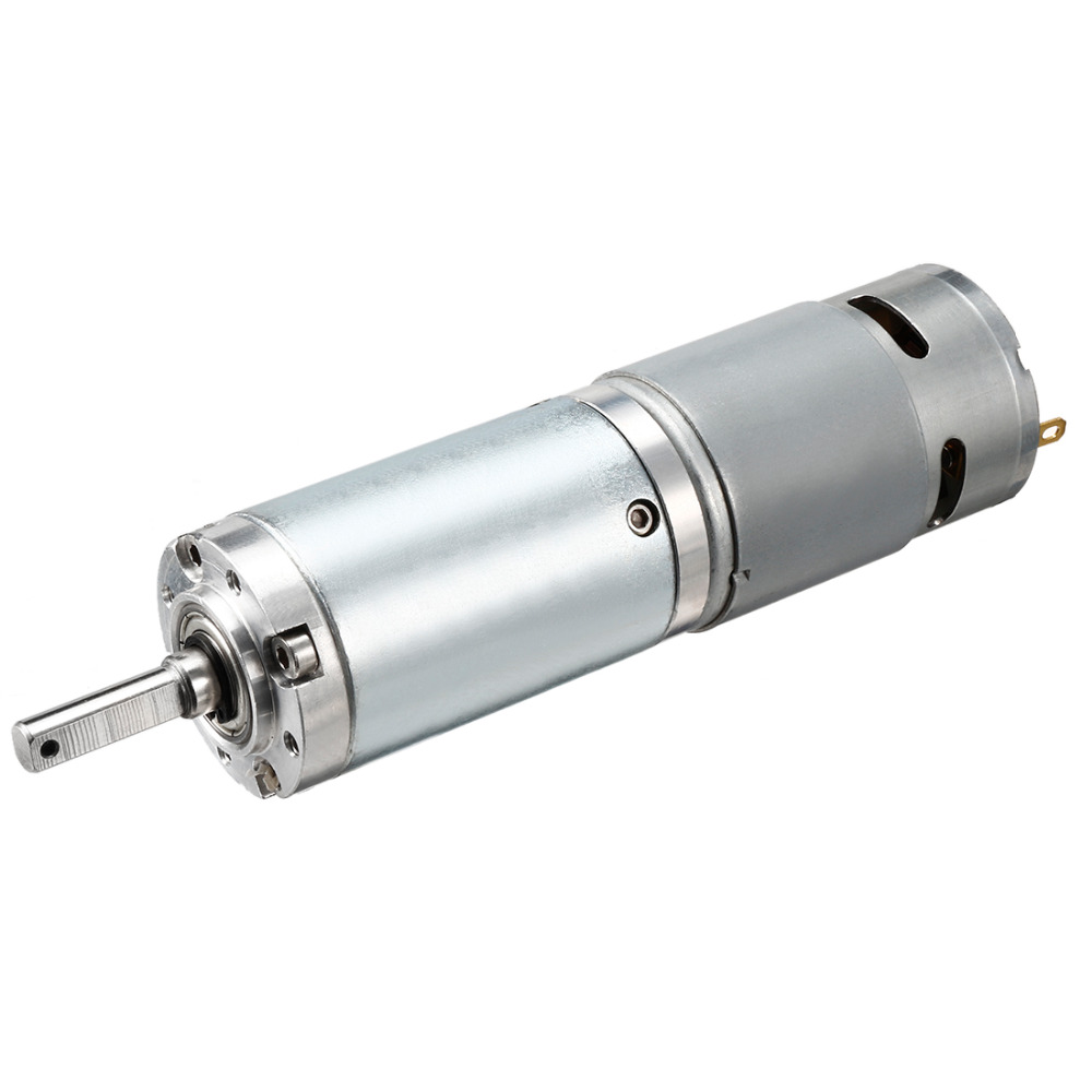 UXCELL Hot Selling 1PCS 44MM DC Planetary Gear Motor 24V 600RPM High Torque Speed Reducer with Carbon Brushe & Metal Gears UXCELL Hot Selling 1PCS 44MM DC Planetary Gear Motor 24V 600RPM High Torque Speed Reducer with Carbon Brushe & Metal Gears