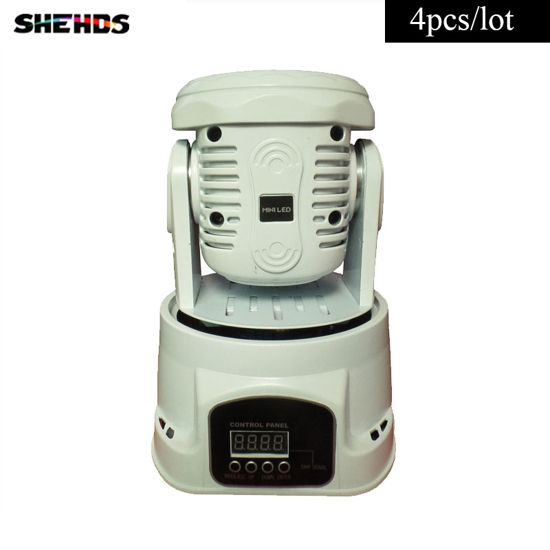 4 pieces LED  Moving Head Mini wash 7x12w RGBW Quad with advanced 14 channels Free Shpping 10 pieces promotional packaging led moving head mini wash 4x10w rgbw quad with advanced 9 12 channels free