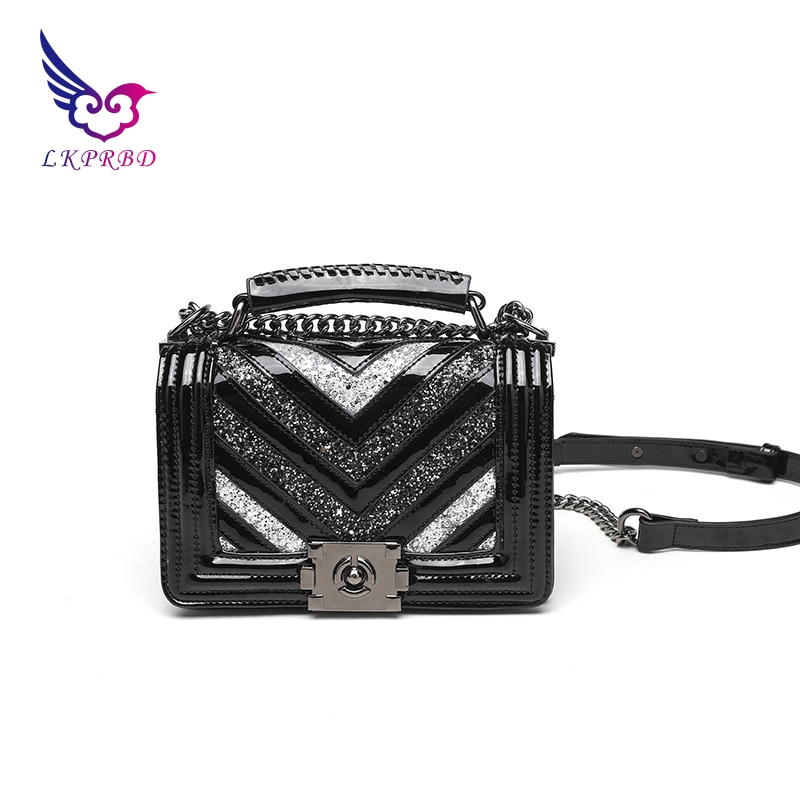 LKPRBD 2018 chain bag ladies handbag brand handbag authentic small Crossbody Bag Purse designer V bolsas women lkprbd 2018 chain bag ladies handbag brand handbag authentic small crossbody bag purse designer v bolsas women