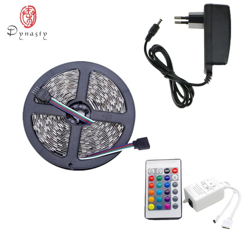 5Meter / Pack LED Flexibel Strip 3M Tape 5050 14.5W / M Vattentät - LED-belysning