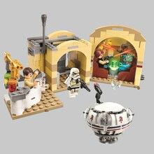 400 шт./Bela 10905 серия Звездных Войн МОС-эйсли Кантина Строительный Блок Совместимые части игрушек с игрушка конструктор подарок