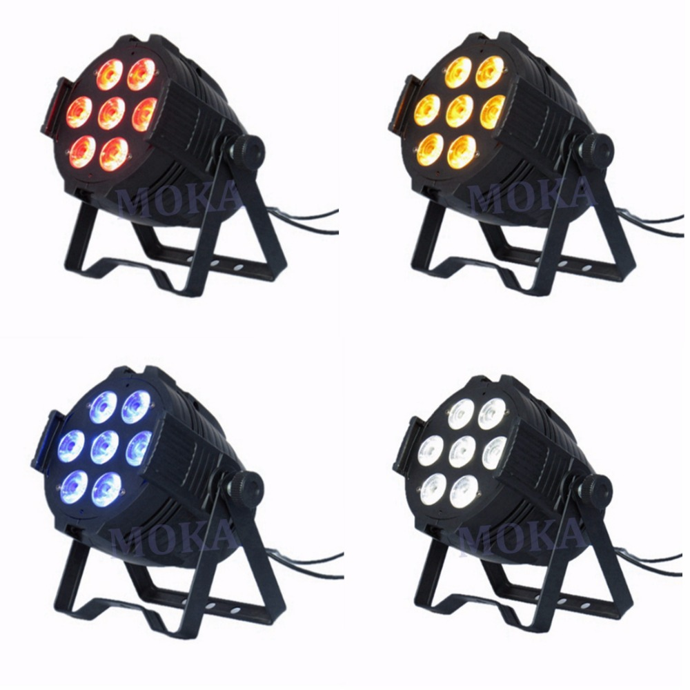 4Pcs/Lot 7*10W Led Par Can Lights RGBW 4IN1 LED PAR64 LED stage Lighting led can lights for wedding events4Pcs/Lot 7*10W Led Par Can Lights RGBW 4IN1 LED PAR64 LED stage Lighting led can lights for wedding events