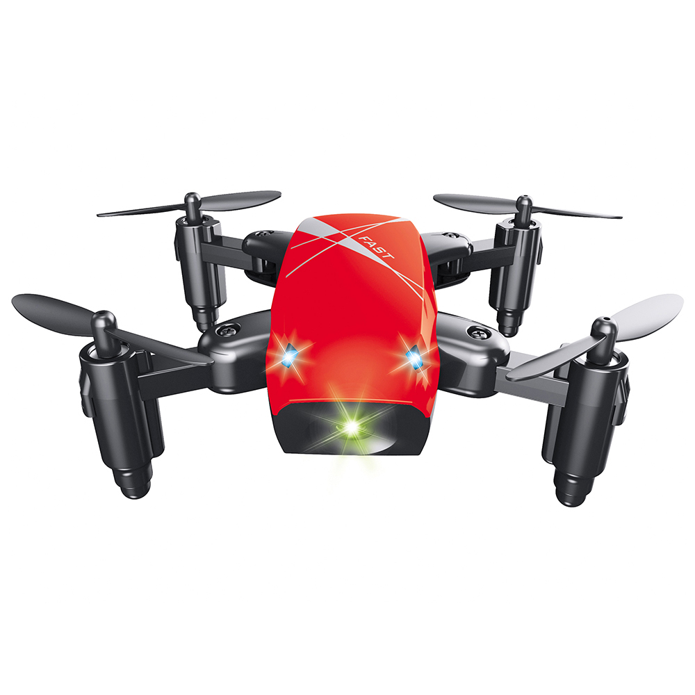 Micro Foldable RC Drone Quadcopter Speed Switch Outdoor Indoor Quadcopters Headless Mode O