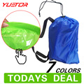 Brand YUETOR  Hangout Lounger waterproof air bag sofa Camping Beach sleeping fast inflatable bed folding lazy laybag air lounger