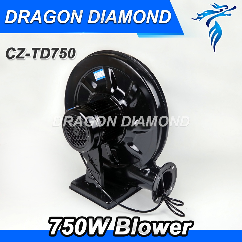 220V 750W Blower Exhaust Fan Air Blower for CO2 Laser Engraving Cutting Machine Medium 220v 750w exhaust fan blower exhaust fan suit for all co2 laser machine zurong