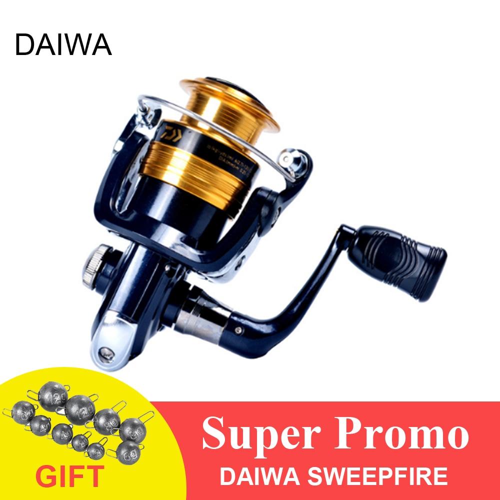 e5c0d0326b4 DAIWA SWEEPFIRE 2B Spinning Reel 1500/2000/2500/3000/3500/4000 5.3:1 ...