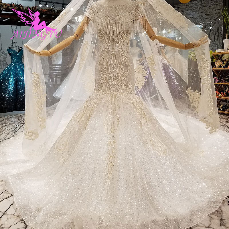 Selling Wedding Gowns: AIJINGYU Buy Wedding Gowns Online Gown Rhinestone Floral