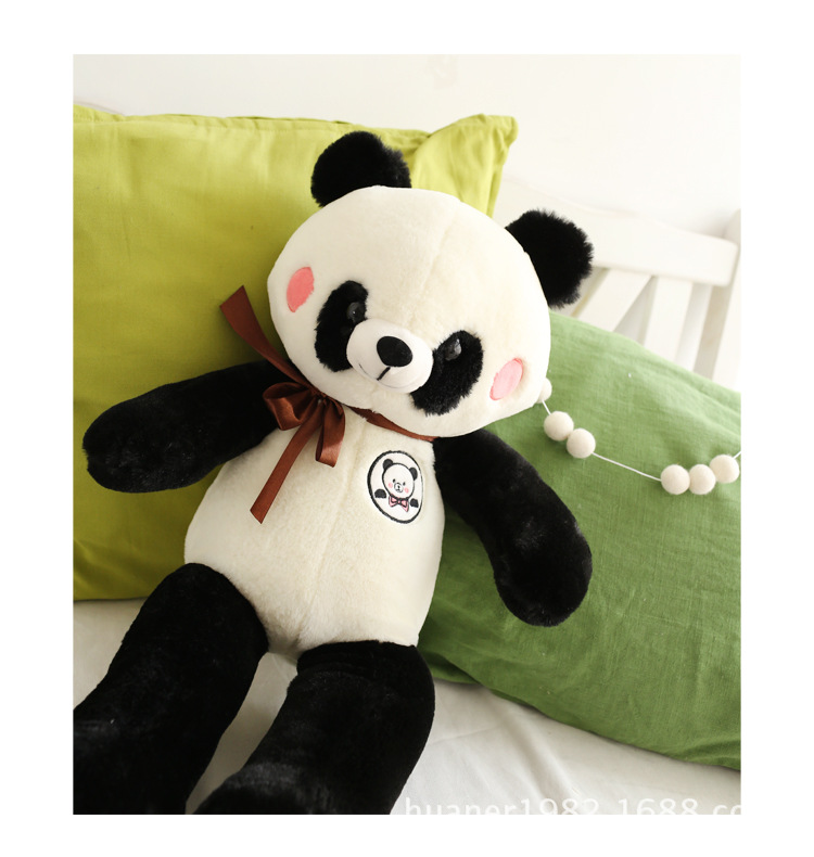 60cm Cute panda plush toy panda doll big size pillow birthday gift high quality 40cm super cute plush toy panda doll pets panda panda pillow feather cotton as a gift to the children and friends
