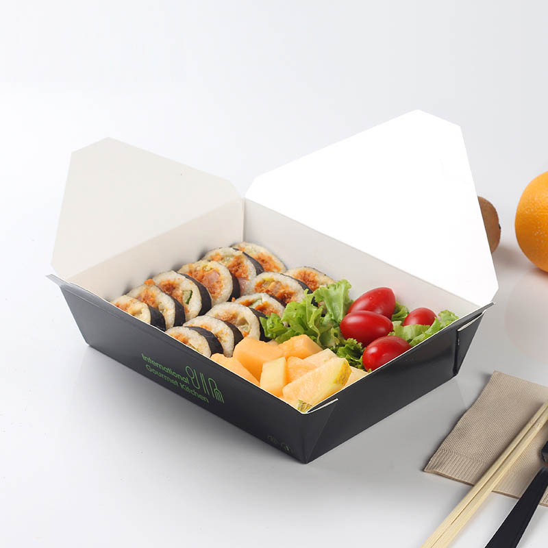500 Pcs Gourmet Kitchen Disposable Food Containers Paper