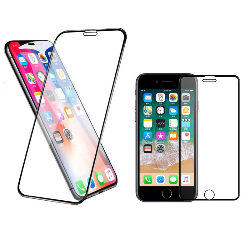 10D Tempered Glass Full Edge Screen Protector Protective Film For Iphone 6 6s 7 8 Plus X XR XS 11 Pro 11pro Max Front LCD Cover