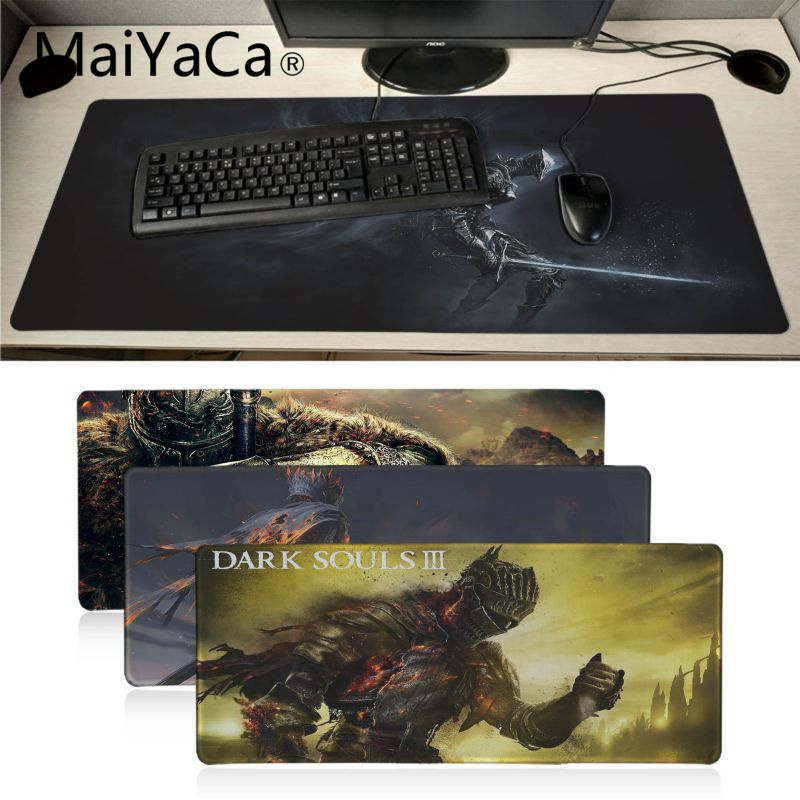 MaiYaCa My Favorite Dark Souls mouse pad gamer play mats Large Gaming Mouse Pad Lockedge Mouse Mat Keyboard Pad ...