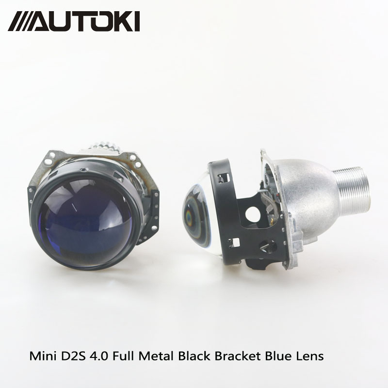 AUTOKI Upgrade 3 0 39 39 HID Bixenon For Hella G5 Aluminum Projector Blue Film Lens Auto Car Headlight Headlamp Retrofit H4 D2S D2H in Car Light Accessories from Automobiles amp Motorcycles