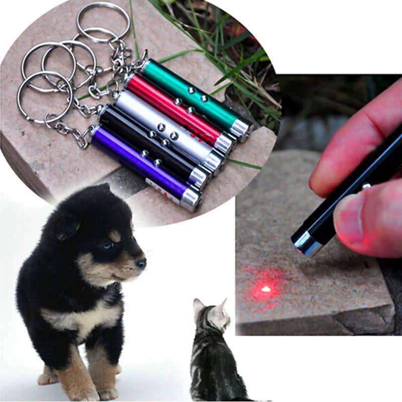 Новая светодиодная Лазерная игрушки ручка с красным лазером дразнить кошек стержней видимый свет Laserpointer забавные интерактивные товары для животных