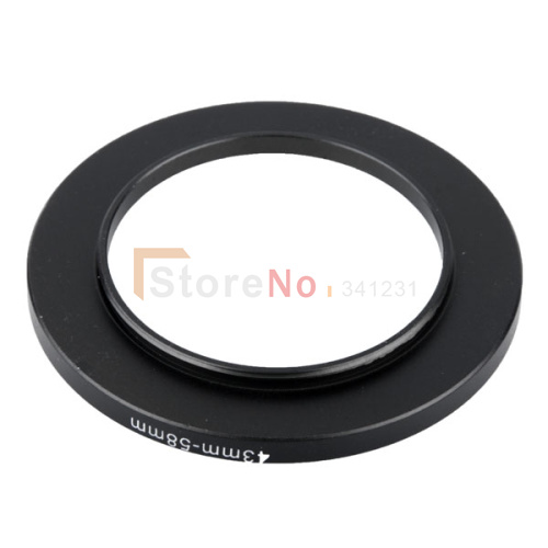 58-43mm adaptador anillo filtro 58mm-43mm adaptador 58-43 mm