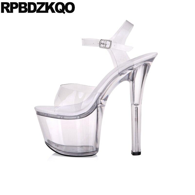 Pvc Pumps High Heels Fetish Women Crossdressed Shoes Perspex Gothic Glass Slipper Big Size 11 Stripper Sandals Stiletto LuxuryPvc Pumps High Heels Fetish Women Crossdressed Shoes Perspex Gothic Glass Slipper Big Size 11 Stripper Sandals Stiletto Luxury