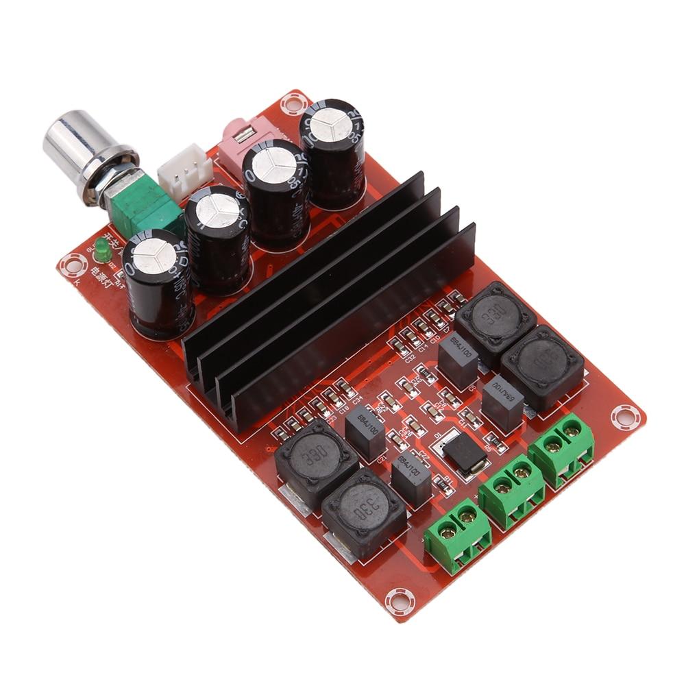 Xh-m190 tda3116d2 высоком Мощность цифровой Усилители домашние доска TPA3116 двойной трек 2 канала 2x51 К аудио Усилители домашние модуль запчасти компонент