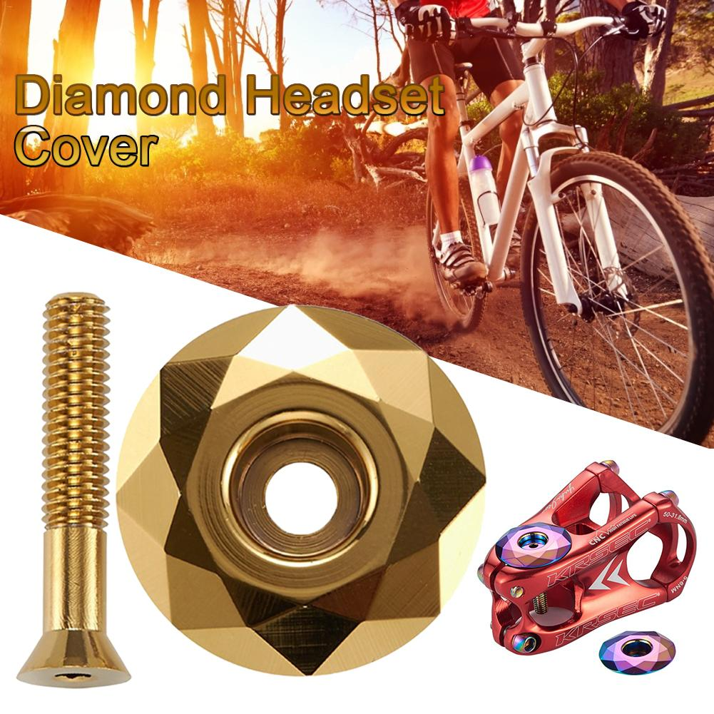 Quality Mountain Bike Top Tube Cap Bicycle Headset Cover Screws Stem Spacers