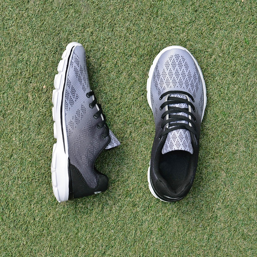 QANSI New Gradually Changing Color Women Running Shoes Spring Autumn Breathable Shoes Outdoor Sport Sneakers For Female 1678W 10