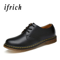 Good Quality Men Business Dress Shoes Fashion Derby Shoes Mens Brown Black Casual Leather Working Footwear Low Top Marten Shoes