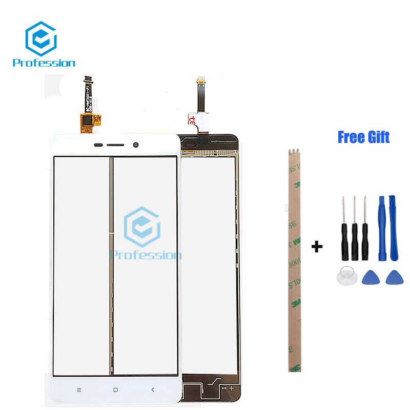 For Original Xiaomi Redmi 4A 4X Note 4 Note 4x TP Touch Panel Perfect Repair Parts Touch Screen Tools+Adhesive in stock