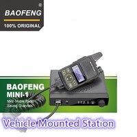 100% Original Baofeng MINI 1 FM Ham mobile radio transceiver BF 9100A walkie talkie BF MINI ONE Vehicle Mounted Station