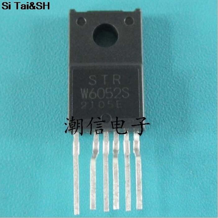 5pcs STRW6052S TO220F-6 W6052S TO-220F STRW6052 TO-220