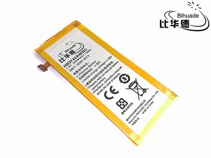 Livraison Gratuite 2050 mAh HB3742A0EBC La batterie du téléphone portable Ascend P6 Batterie P6-U06 p6-c00 p6-T00/Ascend G6 G620 G621 G620s G630