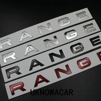 5 teile/los NEUE hood vorder abzeichen emblem Für Range rover Land rover auto aufkleber hight qualität