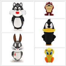 USB flash drive cartoon Looney Tunes pen 4GB 8GB 16GB 32GB 64GB bugs bunny Daffy duck memory stick  pendrive cle usb2.0