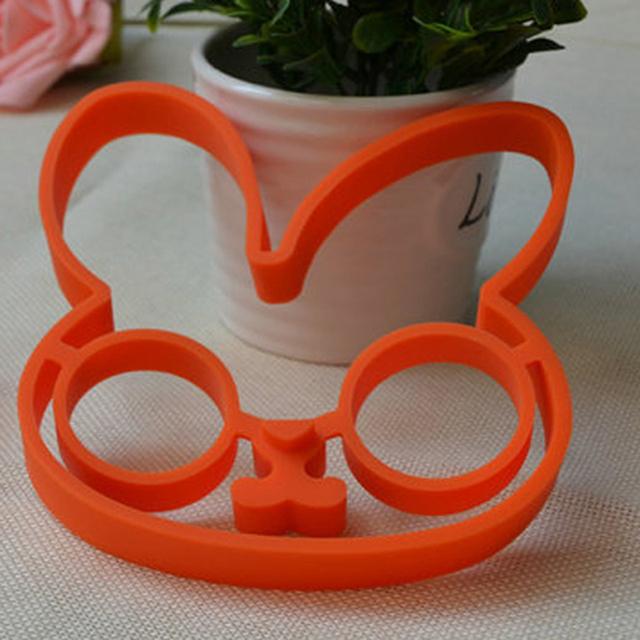 Silicone kitchen gadgets Bunny Cartoon Egg Frame