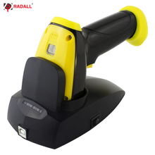 RADALL Wireless QR Code Barcode Scanner 1D/2D IP68 Waterproof with Charging Stand High-end class barcode reader RD-I8