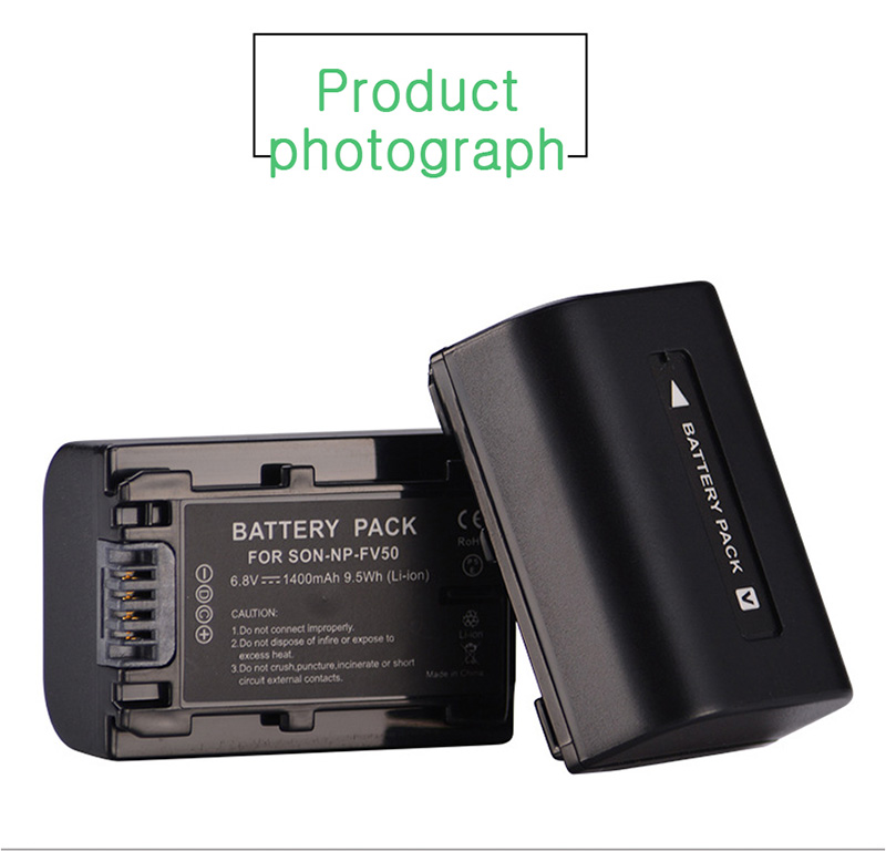 For-Sony-NP-FV50-LCD-USB-Charger-+-1400mAh-NP-FV50_09
