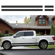 free shipping side door stripe gradient graphic vinyl car sticker for ford f150 super crew 5 1/2 box free shipping 1 2 1 shk12 7mm cove box bit 5 pieces lot for furniture loudspeaker box