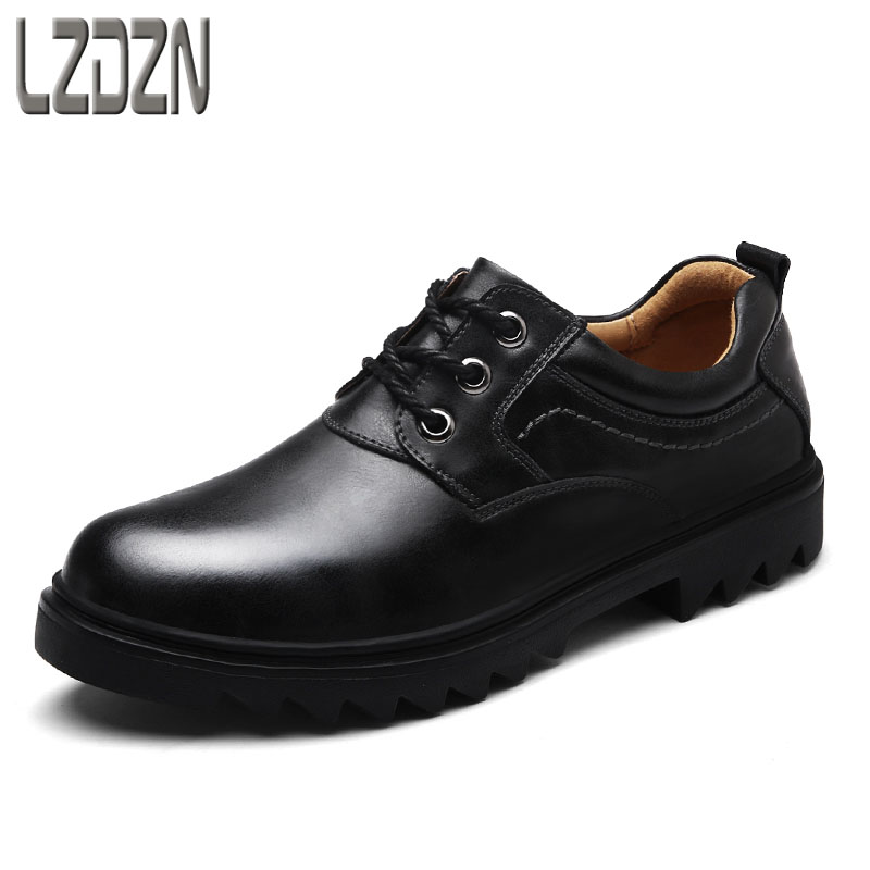 Autumn of men's casual leather shoes autumn shoes fall 2017 new fashion shoes in black men shoes men casual shoes in the autumn of 2017 new england men s trend of men s shoes casual shoes leather shoes breathable four male