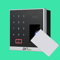 ZKteco Bluetooth Fingerprint Access Control 13.56Mhz Card Reader SilkID sensor ZKBioBT application controller