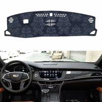 For Cadillac CT6 2016 2019 Flannel Dashmats Dashboard Covers Dash Pads Car Mat Carpet Sun Shade Custom 2017 2018