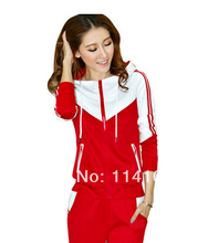 2014 spring fashion women suit for the school Koran design for the women Hoodies for yonger