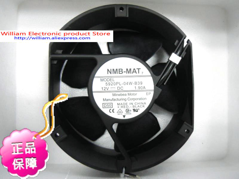 New Original NMB 5920PL-04W-B39 172*51MM DC12V 1.90A Speed Cooling fan цена