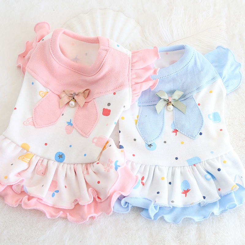 Cute Girl Dress Denim with Flying Sleeve Princess Bow Tie Dresses for 3-24 Months Children Toponly Baby Girl Sets