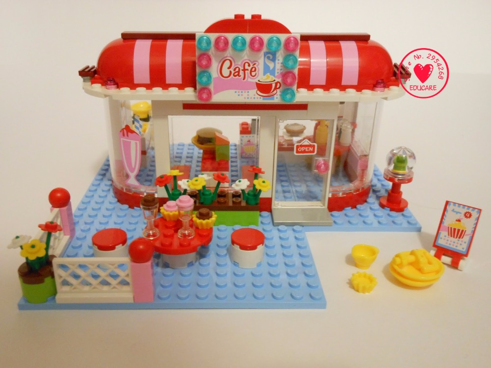 Friends City Park Cafe 10162 lepin model building Blocks Bricks diy Toys Girl Game House Gift Kids Toy Gifts 3061 kid gift set купить